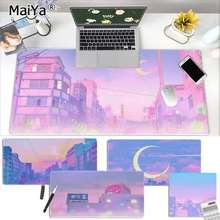 Desktop Mousepad Keyboards-Mat Rubber Aesthetics-Art Sailor Moon Large Maiya Landscape