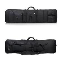 التكتيكية بندقية 85 96 100 120 سنتيمتر بندقية حقيبة كيس Airsoft Carbine مزدوجة مبطن كيس بندقية حقيبة الظهر حقيبة بندقية ساحة أكياس الإكسسوار