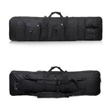 Tactical Rifle 85 96 100 120 Cm Gun Bag Case Airsoft Carbine Dubbele Gewatteerde Case Gun Bag Rugzak Rifle Case vierkante Zakken Accessoire