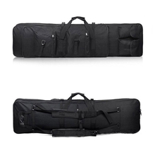Tactical Rifle 85 96 100 120cm Gun Bag Case Airsoft Carbine Double Padded Case Gun Bag Backpack Rifle case Square Bags Accessory
