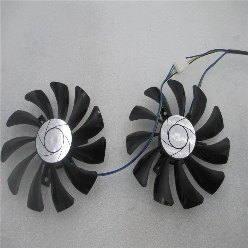 HA9010H12F-Z <font><b>GTX</b></font> 1070/<font><b>1060</b></font> GPU Card Cooling Fan For MSI GeForce GTX1060 GTX1070 <font><b>MINI</b></font> Graphics Card cooling image