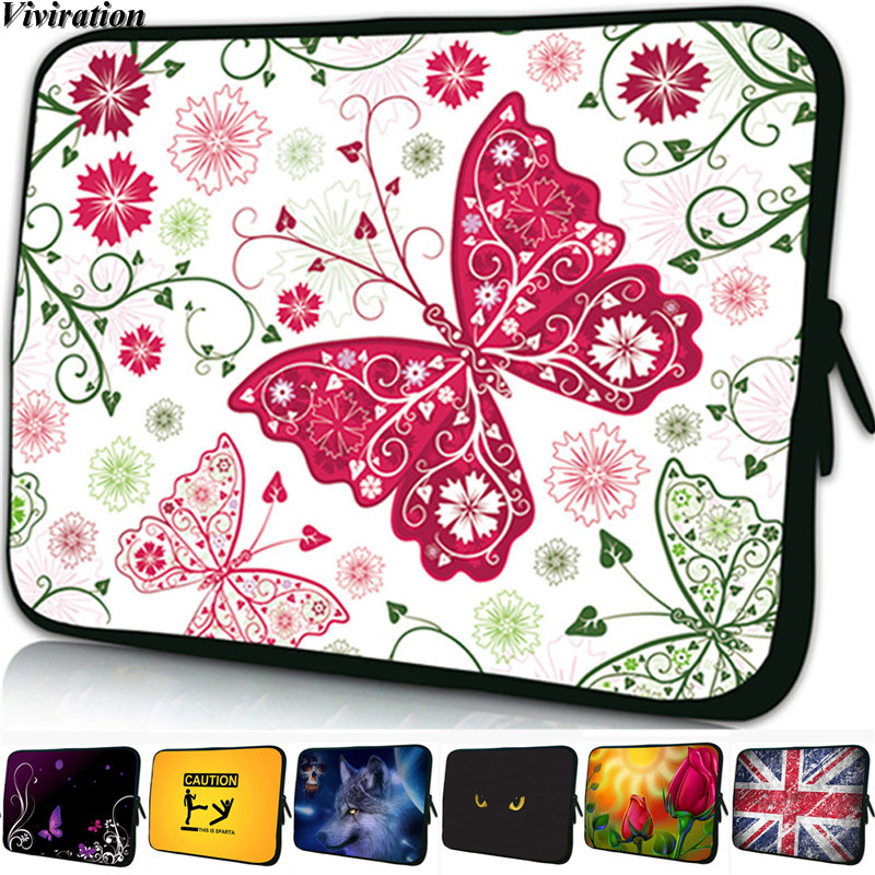 "PC 11.6"" 12.3"" 12.2"" 12.1"" 12 Very Beautiful Fashion Women Laptop Noteboook Ultrabook Sleeve Chromebook Case Neoprene Zipper Bag"