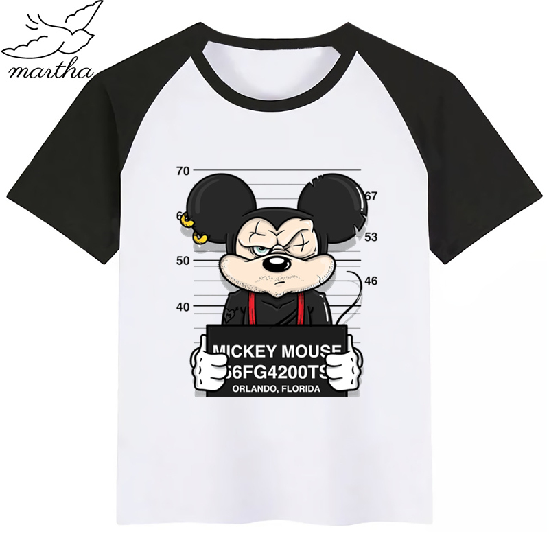Mickey Mouse Funny <font><b>Dog</b></font> Cartoon Baby Boy Girl <font><b>Tshirt</b></font> Kids Boys Top Child Print Tee Funny T-shirts Summer Short Sleeve image