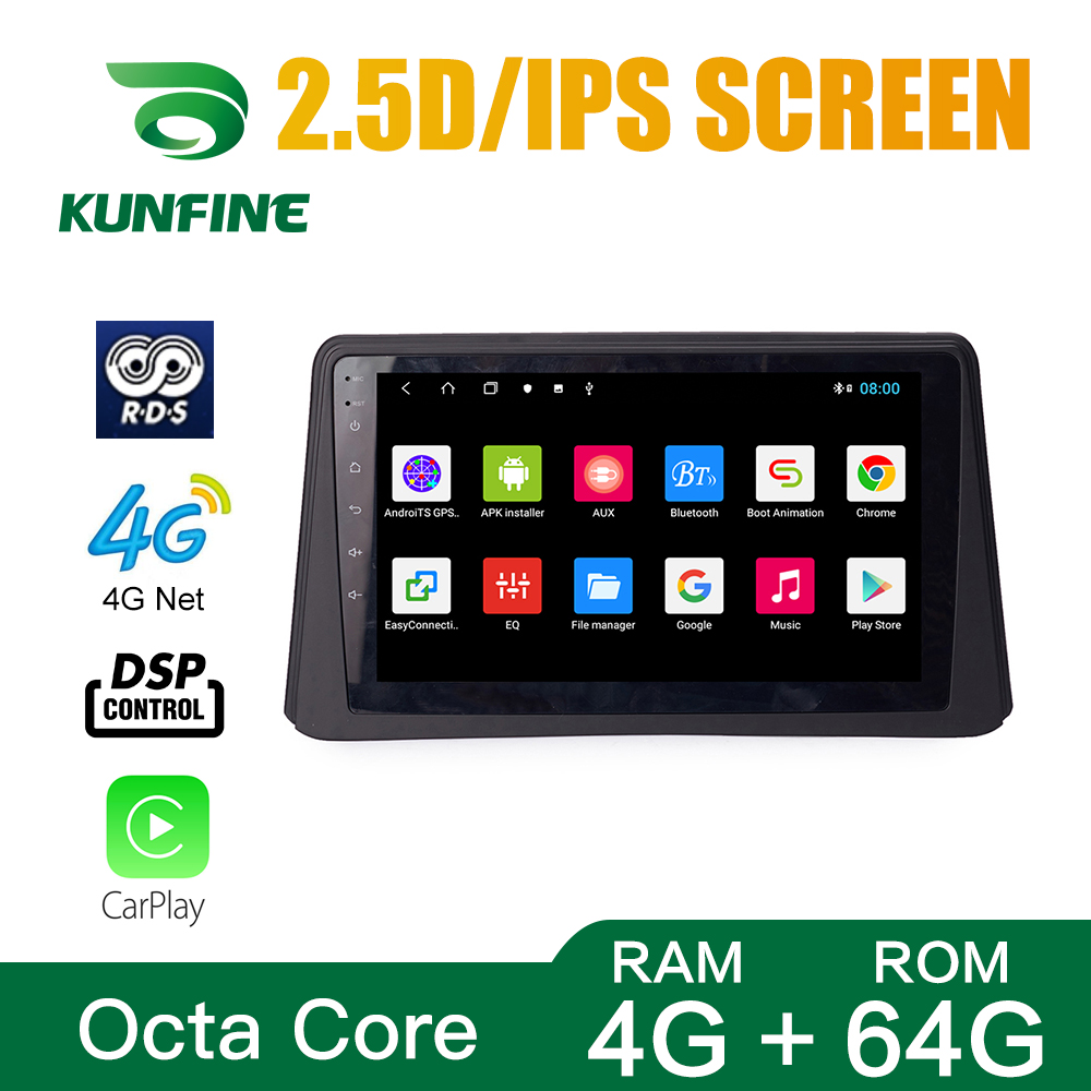 Octa Core 1024*600 Android 8.1 Car DVD GPS Navigation Player Deckless Car Stereo For BUICK ENCORE 2013-2015 <font><b>Radio</b></font> Headunit WIFI image