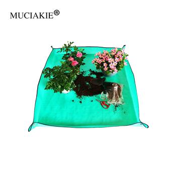 MUCIAKIE 1PC ogród odżywianie gleby wodoodporna mata Home narzędzia ogrodnicze ogrodnictwo mata artykuły ogrodowe tanie i dobre opinie
