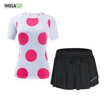 Wosawe Женская одежда для велоспорта комплект из Джерси женская
