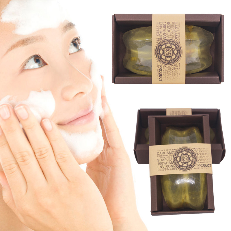 Face Skin Care Handmade Soap Essential Oil Whitening Oil Control Facial Cleaning Soaps V9-Drop