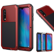Full Protective Luxury Doom Armor Heavy Duty For Huawei Mate30 Mate30Pro Mate20 P30 P30pro P30 Pro Metal Case Shockproof Cover