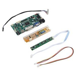 Профессиональный M.NT68676.2A HDMI DVI VGA Аудио ЖК-светодиодный экран плата контроллера DIY Набор мониторов экрана