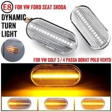 Dynamic LED Side Marker Signal Light Indicator Lamp For SEAT Leon 1P Ibiza Mk3 6L Mk4 6J Toledo Exeo Sedan Exeo Sedan Exeo ST