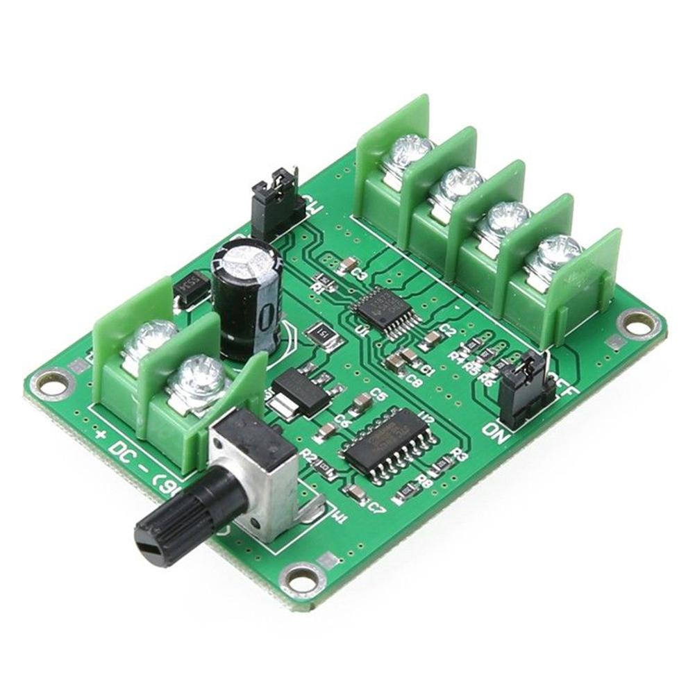 None DC7-12V Brushless Optical Drive Hard Disk Motor Driver Speed Control Board