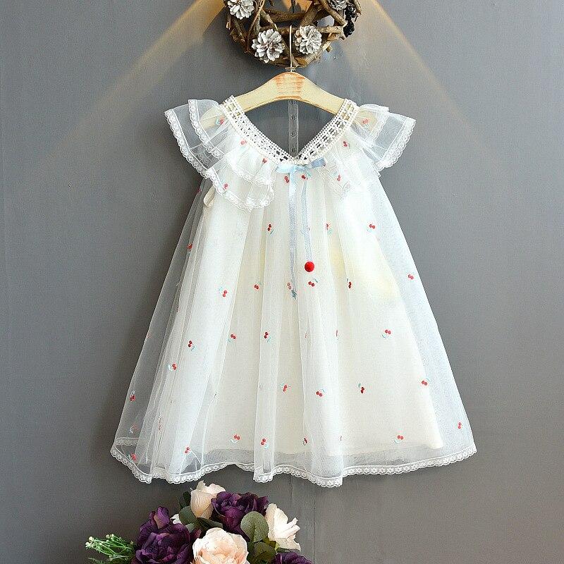 2020 New Kids Clothes Dresses For Girls Fashion Wedding Dress Girl Princess Dress Children's Wear Party Star Dress 5