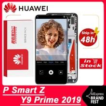 Originele 6.59 Display Vervanging Voor Huawei P Smart Z / Y9 Prime 2019 Lcd Display STK LX1 Touch Screen Digitizer montage