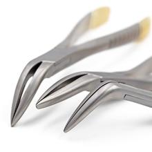 Dental Root Fragment Minimally Invasive Tooth Extraction Forcep Instrument Curved Maxillary Mandibular Universal Plier Tool
