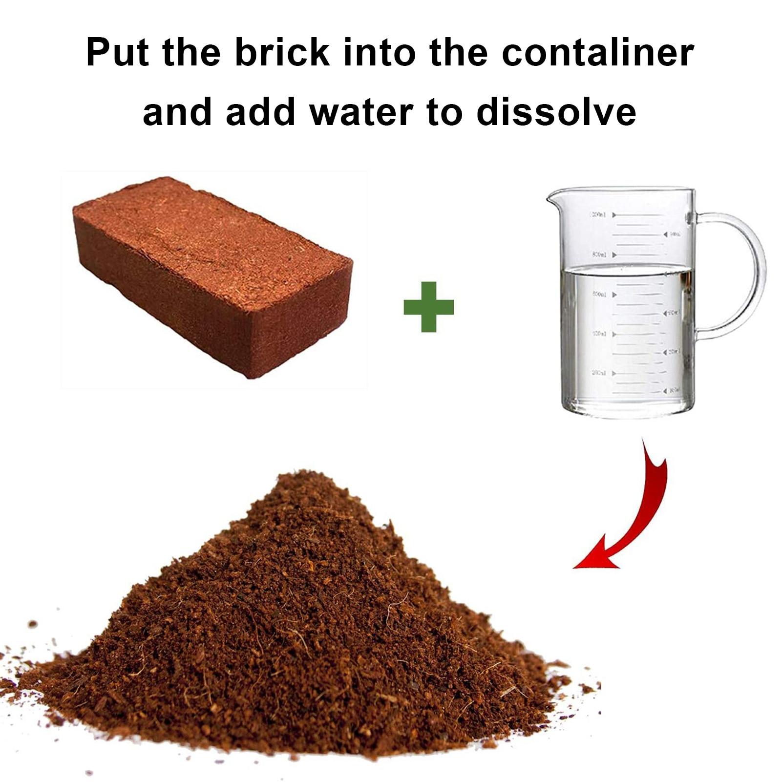 New Coconut Fiber Coir Pellet Nutrient Soil Lightweight Plant Compressed Base Garden Coir Pellet Soil For Flowers Vegetables
