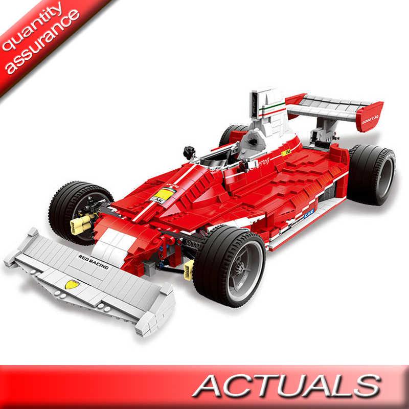 2405 pièces XINGBAO 03023 technique les blocs de construction de voiture de course de puissance rouge assemblé briques Kid jouets Compatible MOC Legoed