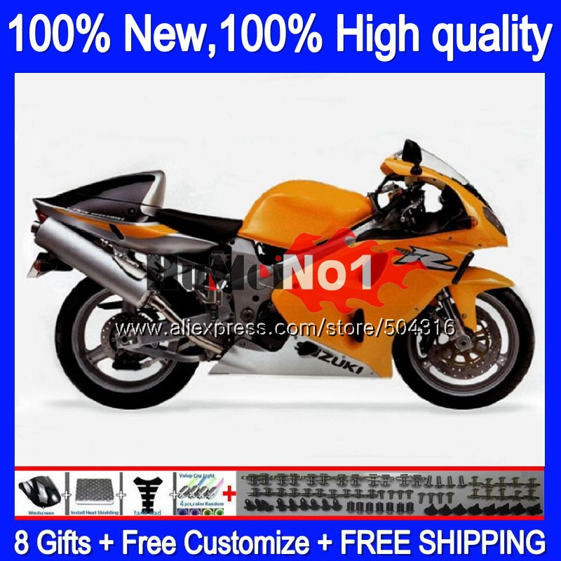 Body For SUZUKI SRAD TL1000 TL 1000 R 1000R 25MC.64 TL1000R 1998 1999 2000 2001 2002 2003 98 99 00 01 02 03 Fairing NEW Orange|Motocycle Covers| |  - title=