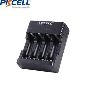 Image 5 - 8 ピース/ロットpkcell aa電池ニッケル水素 2A 2000 2600mahの 1.2v単三充電式バッテリーaa/aaaニッケル水素バッテリー充電器