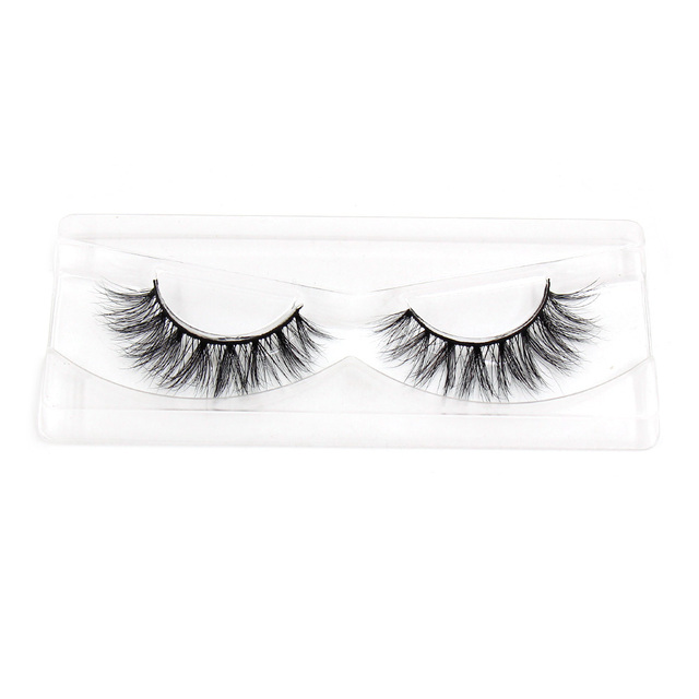 LEHUAMAO Luxury 5D Mink Hair False Eyelashes Wispy Cross natural Mink Lashes Extension Tools Makeup Handmade Mink Eyelashes A04 2