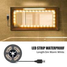 Светодиодный ная настольная лампа для туалетного столика светильник