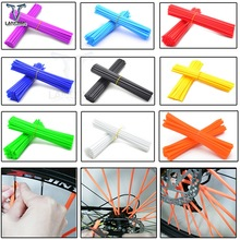 For KTM SX EXC MXC 250 300 400 450 520 525 Wheel Spoke Protector Colorful Motocross Rims Skins Covers Motorcycle Bike Guard