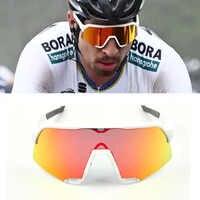 Lunettes de vélo s 3 sport lunettes de cyclisme VTT lunettes de cyclisme S 3 lunettes de soleil de cyclisme UV400 lunettes 3 lentilles