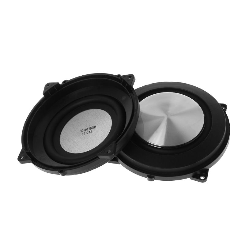 2PCS Passive Radiator 120mm Woofer Speaker Auxiliary Bass Membrane Vibration Diy Accessories