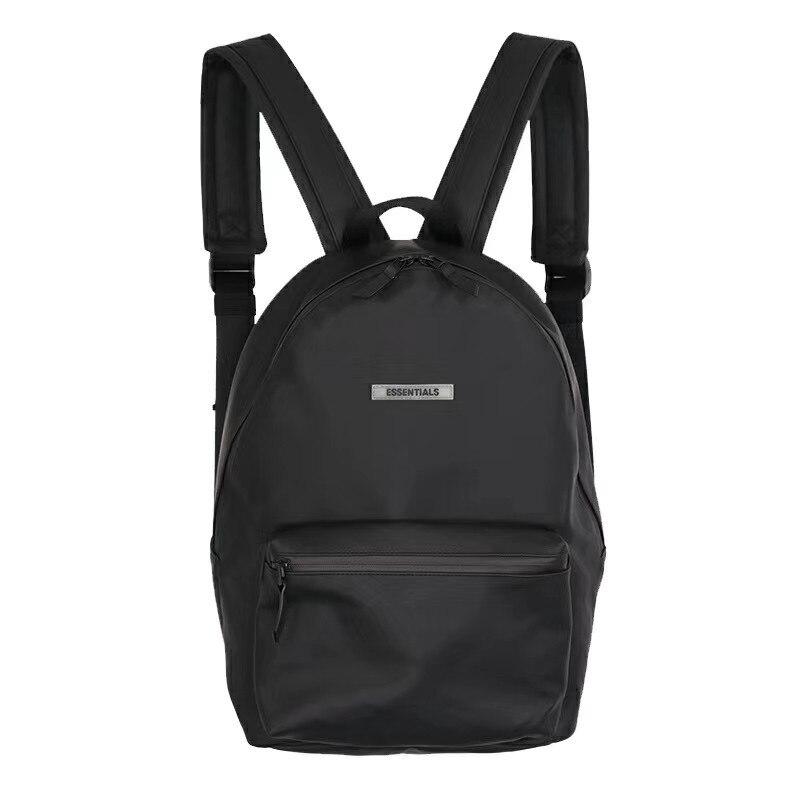 NEW FOG ESSENTIALS Backpack Men High-Quality FOG Crossbody Bag Metal ESSENTIALS Bags Women Backpack