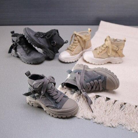 meninas martin botas criancas botas macias botas