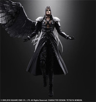 25CM Final Game Fantasy Play Arts Kai Action Figure Sephiroth Cloud Strife Noctis Lucis Aurum Squall Leonhart Figures Toy Doll