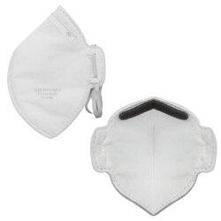 10PCS Antibacterial facial mask Anti-dust mask Non-woven fiber electrostostatic filter Support stereo 3D design