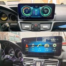 12,5 zoll Android 10 8G + 128G 4G LTE Auto GPS Navigation Multimedia Player Für Mercedes Benz E Klasse W212 E200 E230 E260 E300 S212