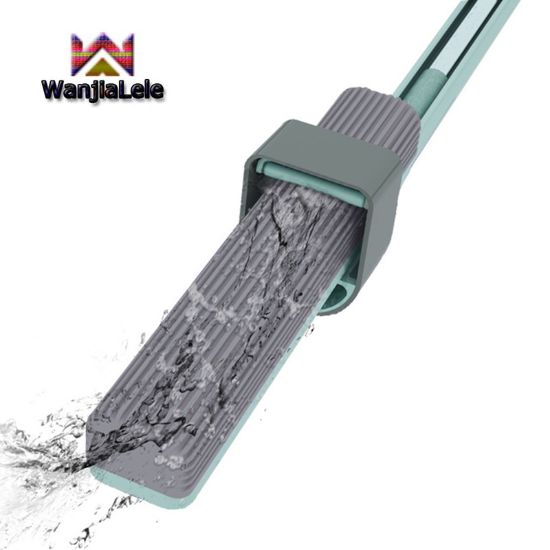 Rotating head magic colloidal cotton mop Lazy Hands free washing floor mop Household cleaning tools Strong Automatic Dehydration