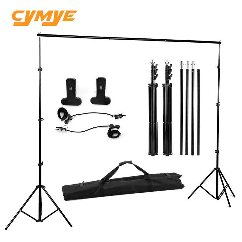 Cymye photo studio background support stand for photography background 200x200cm or 200x150cm