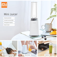 Xiaomi 280ML Portable Electric Juicer Blender USB Mini Fruit Mixers Juicers Fruit Extractors Food Milkshake Maker Machine(China)