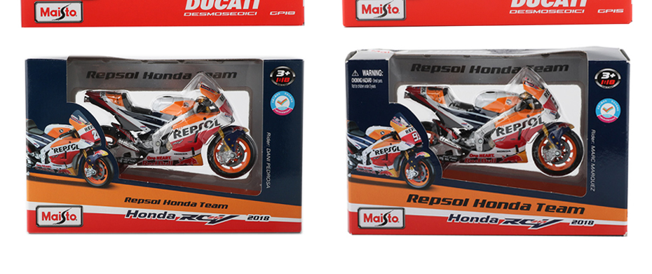 Moto GP Racing Motorcycle Toy Model Collection 64