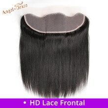 Perruque Lace Frontal wig Remy brésilienne – ANGEL GRACE, cheveux naturels, Lace Frontal Closure, 13x4, oreille à oreille, partie libre/centrale, HD