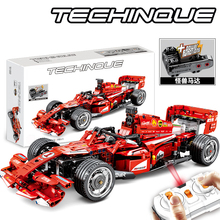 SEMBO Technic RC remote control car toy Building Blocks model Kit Bricks F1 formula Racing Car kids toys for Children boys gift