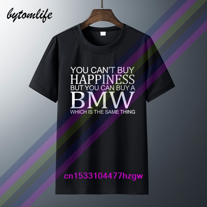 Men Bmw Funny <font><b>Parody</b></font> T <font><b>Shirt</b></font> Car Owner M Power Sport Racing Gift Top Men's Women's 100% Cotton Short Sleeves Tops Tee Unisex image