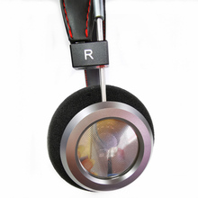 40MM כבד בס פתוח חזרה אוזניות 32 אוהם HiFi מעל אוזן אוזניות מלא טווח מתכת דיור אוזניות