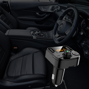 Image 5 - Cargador de manos libres transmisor Fm con bluetooth para coche, reproductor de Audio, música, MP3, bluetooth 5,0, USB dual, accesorios para coche