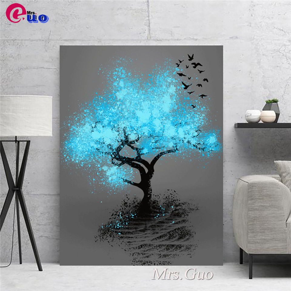 Full Square/Round Drill 5D DIY Diamond Painting Abstract Landscape