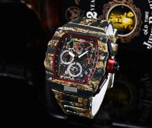 2020 Premium jakość AAA Richard męskie zegarki Top marka luksusowe zegarki męskie Mille DZ mężczyzna zegar kwarcowy automatyczne zegarki na rękę tanie tanio ANGLANG Luxury ru QUARTZ STAINLESS STEEL Nie wodoodporne CN (pochodzenie) Klamra 15mm Hardlex 22inch Skórzane 44mm RUBBER
