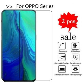 Перейти на Алиэкспресс и купить 2 шт Защитная пленка для экрана OPPO Reno 10x Zoom Reno 2 5G закаленное стекло OPPO Reno Z Reno2 F Z Защитная ультратонкая пленка для телефона