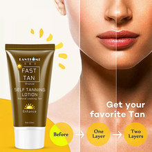 1 Bottle Body Bronze Natural Bronzer Sunscreen Self Sun Tanning Enhance Lotion Tanning Cream Tanner Lotion Skin Darken TSLM2 недорого