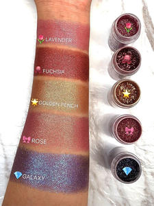 Pigment-Powder Cosmetic Eye-Shadow Makeup-Eyes Glitter Loose FOCALLURE Single 18-Colors