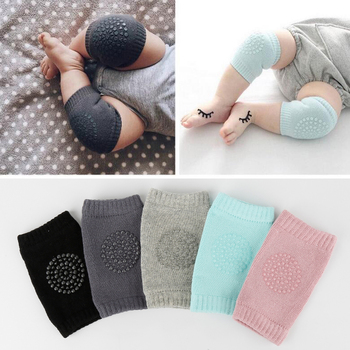 New Collection Kids Leg Warmers Anti Slip Crawl Protector Cotton Baby Knee Protectors Necessary