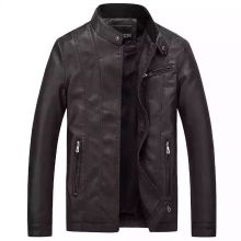 Mens Leather Jacket  Winter Coat Chaqueta De Cuero Para Hombre Faux Fur Coats Pu Jackets