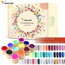 60 PCS * 5ml เจลเล็บสีทาเล็บหมึก CANNI ขายร้อนเล็บ Art Salon เล็บทั้งชุดสี LED เจล Lacquer สี UV เจล