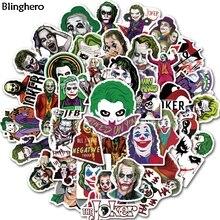 10sets/lot Blinghero Joker Stickers 50Pcs/set Skateboard Sticker Stationery Luggage Laptop Gift Decals BH0464